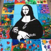 1_455_20 Bilder je 40x40_Projekt Mona Lisa mit Kindergarten Spielberg