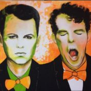 74_PET SHOP BOYS_100x120_Acryl auf Leinwand