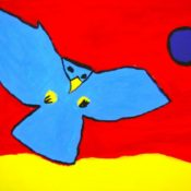 hs_014_Der fliegende Adler 50x70 Acryl