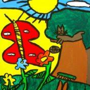 hs_023-Der Schmetterling 60x80 Acryl