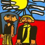 hs_033_Gabriella Montez und Troy Bolton 50x70 Acryl