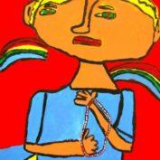 hs_039_Mann mit Perlenkette 50x70 Acryl