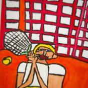 hs_050_Der Tennisspieler 60x80 Acryl