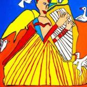 hs_160_80x120_Frau mit Harfe