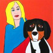 hs_211_80x80_Blondine mit Berner Senenhund