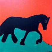 hs_227_60x60_Schwarzes Pferd