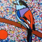 hs_327_80x100_Tropischer Vogel - Collage