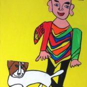 hs_335_80x120_Mexikaner mit Hund